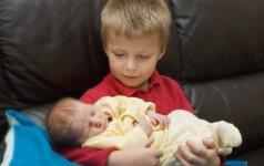 Auksiniai patarimai, kaip paruošti vaiką brolio arba sesės gimimui