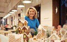 Beata Nicholson dalijasi švenčių stalo puošmena – imbierinio namelio receptu