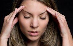 8 galvos skausmo priežastys, kurių net neįtarėte
