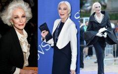 Carmen Dell'Orefice – gražiausia pasaulio senutė, modelio sėkmės sulaukusi jau pensijoje