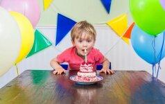 Kokias sveikas vaišes paruošti vaiko gimtadieniui: specialistės patarimai