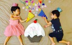 Mama fotografuoja savo vaikus tik miegančius: rezultatas – įspūdingas