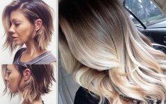 Plaukų kontūravimas, padedantis išryškinti gražiausius tavo veido bruožus