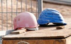 """Statybininkų """"pokštai"""" įsiutino kaunietę: viršūnė, kad tai daroma ten, kur gyvena vaikai"""