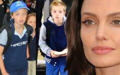 Angelinos Jolie dukra visai nebeprimena mergaitės
