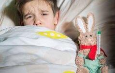 Medikai įspėja: rotavirusinės infekcijos pasiekė piką