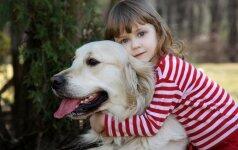Kaip šuo gali padėti problemų turinčiam vaikui?