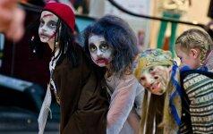 Heloviną Lietuvoje kasmet švenčia vis daugiau vaikų FOTO