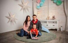 Kauniečių šeima gimus vaikui nėrė į šeimos verslą