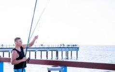 Паланга: рыбаки с пирса заметили нерадостную тенденцию