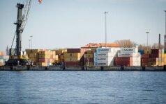 Грузы в портах Балтии: в Литве - рост, в Латвии и Эстонии - падение