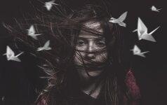 Mirusios mergaitės žinia tėvams – veidrodyje FOTO