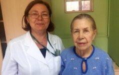 90-летняя Инна Макарова натерпелась от внука