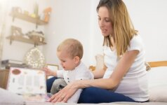 Skaitydami knygas vaikui, laviname iškart tris jo intelekto sritis