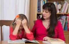 10 patarimų tėvams, jei vaikas tingi mokytis