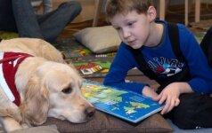 Ką bibliotekoje veikia vaikai ir šunys? FOTO