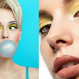 Šviežiausia ir populiariausia akių dažymo mada: ypač pamėgs jaunimas (FOTO)