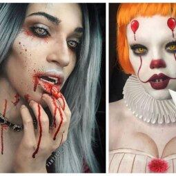 Kraupiausi merginų Helovyno įvaizdžiai, kurie privers drebėti (FOTO)