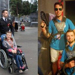 """Savanoris Jonas: """"Savanoriaujant su neįgaliaisiais kartais labai sunku tramdyti emocijas"""""""