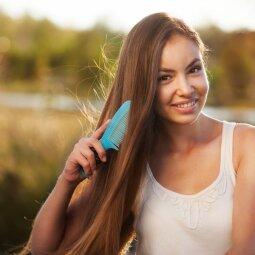 Efektyvios ir greitos kaukės sausiems plaukams