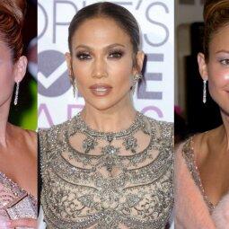 Jennifer Lopez - vampyrė? Jau 15 metų jos išvaizda nė trupučio nesikeičia (FOTO)
