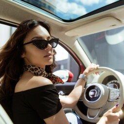 """Tikriausias """"Instagram"""" automobilis: juo į gatves išriedėjo Simona Burbaitė (FOTO)"""