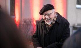 На 89-й день рождения Ландсбергису преподнесли сюрприз