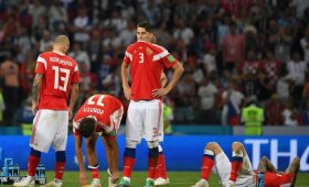 Pasaulio čempionato ketvirtfinalis: Rusija – Kroatija