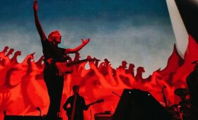 Roger Waters koncerto akimirka