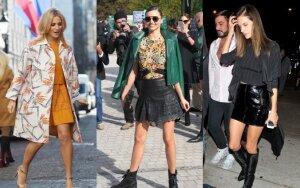 Trumpas sijonas šį rudenį puikuojasi ne vienos stilingos moters spintoje