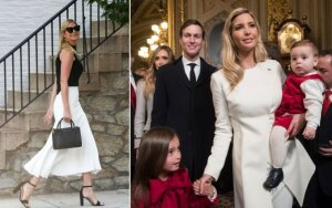I. Trump stilius – klasikinis, moteriškas ir labai tinkantis pirmajai JAV dukrai