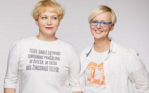 Ieva Ševiakovaitė ir Jolanta Rimkutė