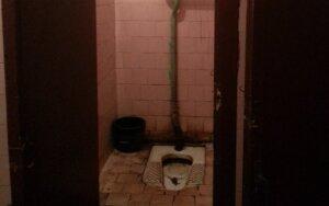 Autobusų stoties tualetas šiurpina keliautojus