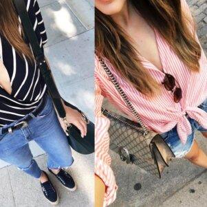 5 idėjos, kaip įdomiau vilkėti pabodusią palaidinę ar marškinėlius