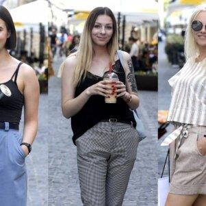 Be vienos minutės vasara: stilingi vilniečiai demonstravo iškirtinius aprangos derinius (FOTO)