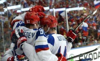 Сборная России одолела на старте Кубка Первого канала финнов