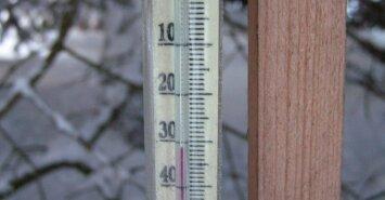 В Литве усилятся морозы