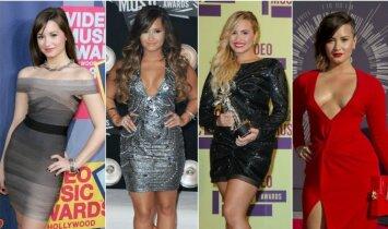Dėl apvalių formų kritikuojama Demi Lovato: gailiuosi figūrai išsvaistyto laiko(FOTO)