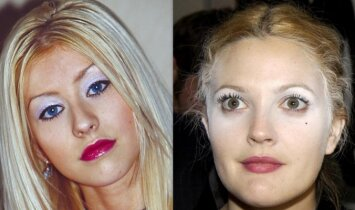 Praeityje populiarios grožio tendencijos, kurios dabar kelia siaubą(FOTO)