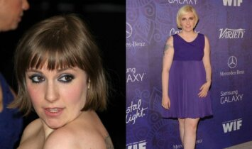 Apvalių formų aktorės prabangi suknelė padarė meškos paslaugą(FOTO)