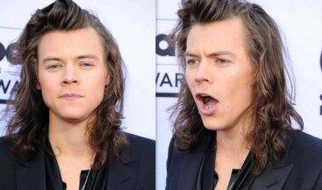 """Sensacija: Harry Styles turi <span style=""""color: #ff0000;"""">dvynę</span>?! (FOTO)"""