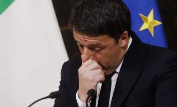 Italijos premjeras Matteo Renzi