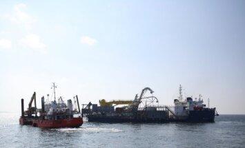 NordBalt kabelį tiesiantis laivas