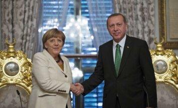 Angela Merkel,  Recepas Tayyipas Erdoganas