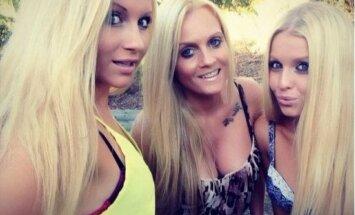 Vienai iš šių merginų - 45 metai. Ar pavyks atskirti, kuriai?