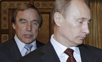Sergejus Rolduginas, Vladimiras Putinas