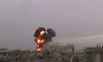 Neramumai Sirijoje - bombarduojamas Homsas