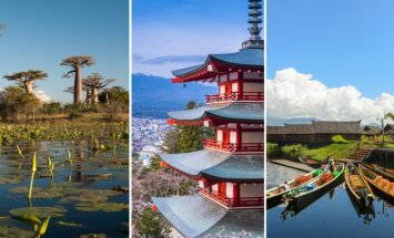 3 kelionių kryptys, ieškantiems egzotinių potyrių
