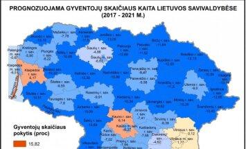 Prognostinis Lietuvos gyventojų kaitos 2017-2021 m. laikotarpyje tyrimas (R. Tučas nuotr.)