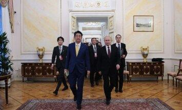 Shinzo Abe, Vladimiras Putinas